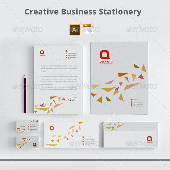 Creative Business Stationery