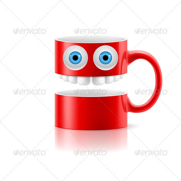 Cartoon Mug - Patterns Decorative