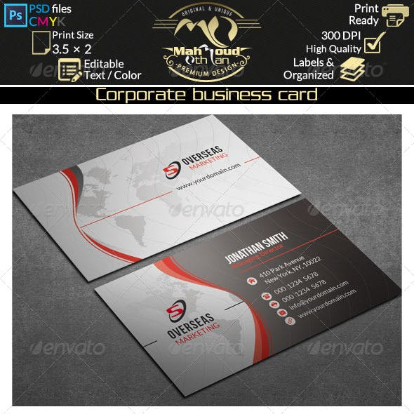 Corporate Business Card 34