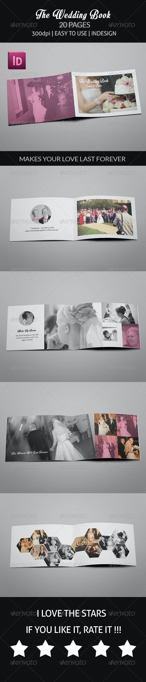 The Wedding Book - Print Templates