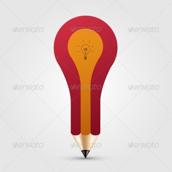 Concept Pencil with Idea - Concepts Business