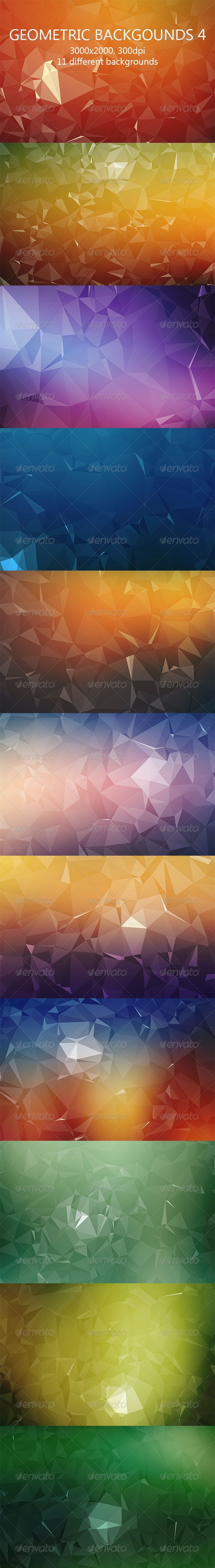 Geometric Backgrounds 4 - Abstract Backgrounds