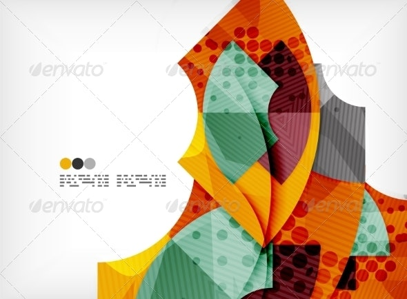 Futuristic Abstract Composition - Abstract Conceptual