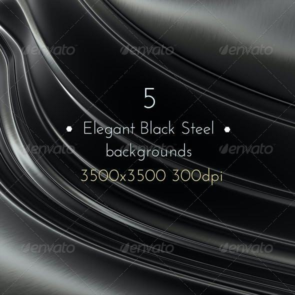 Elegant Black Steel