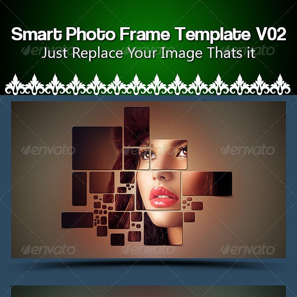 Smart  Photo Frame Template V02
