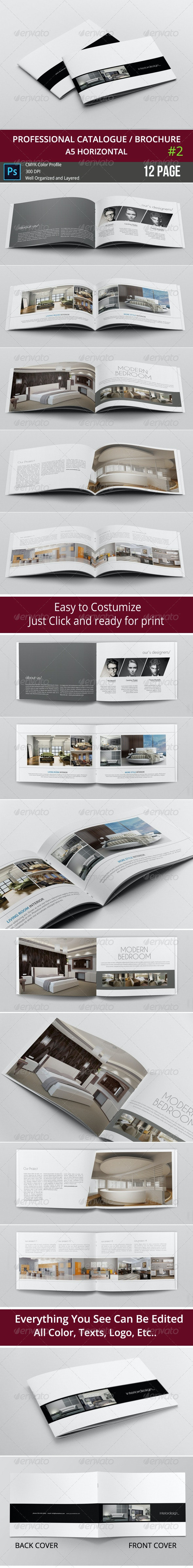 Simple & Clean A5 Catalogue 2 - Catalogs Brochures
