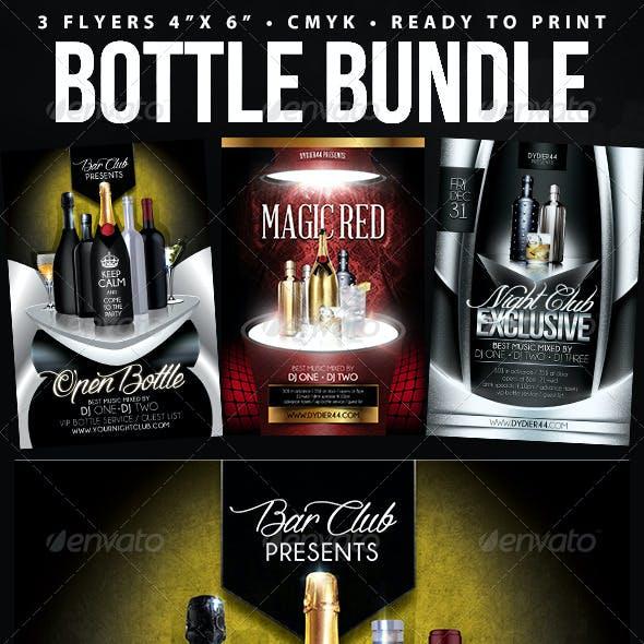 Bottle Bundle (Flyer Template 4x6)
