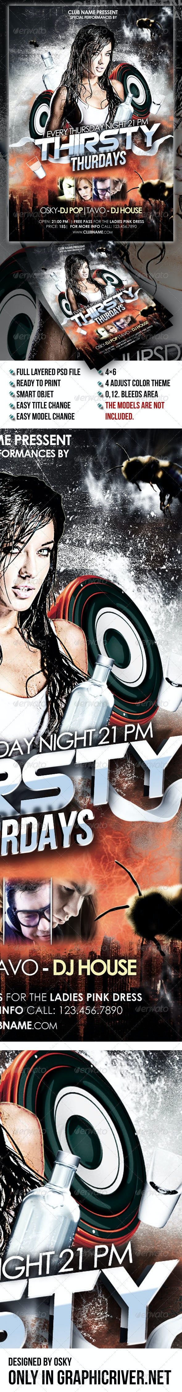 Thirsty Thurdays Party - Clubs & Parties Events