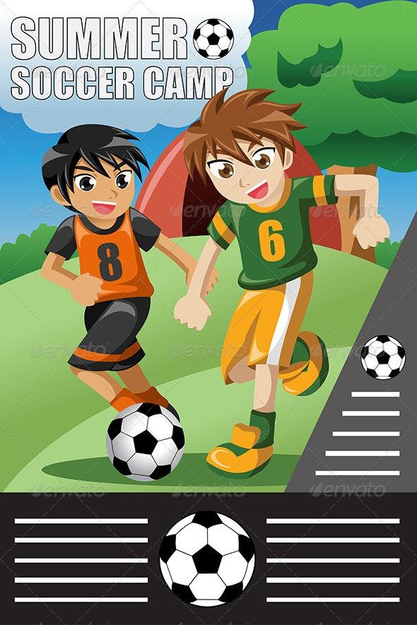 Summer Soccer Camp - Sports/Activity Conceptual