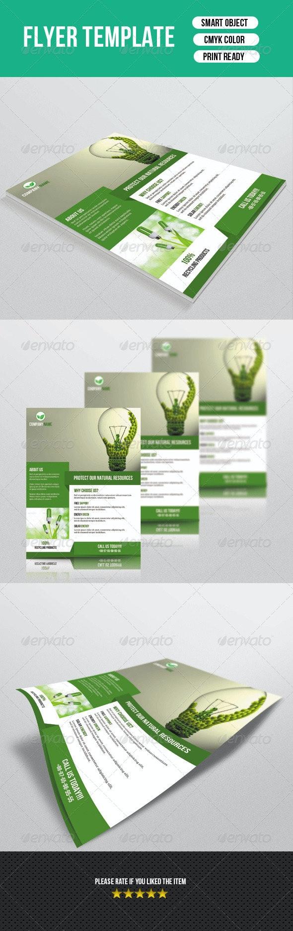 Green Energy Flyer-V72 - Corporate Flyers