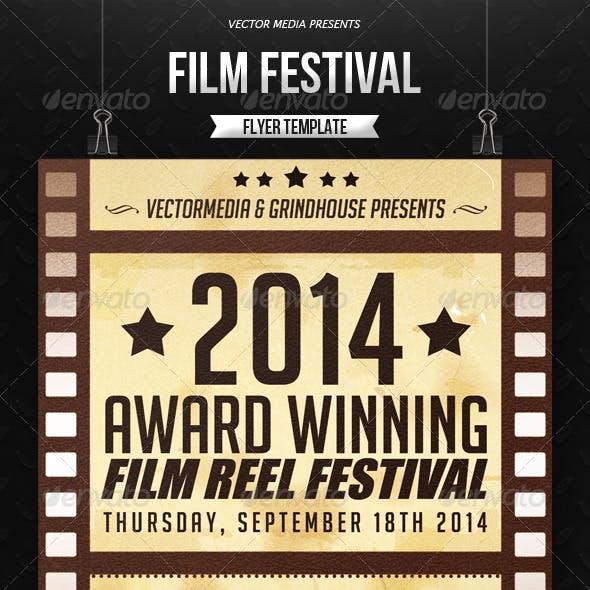 Film Festival - Flyer