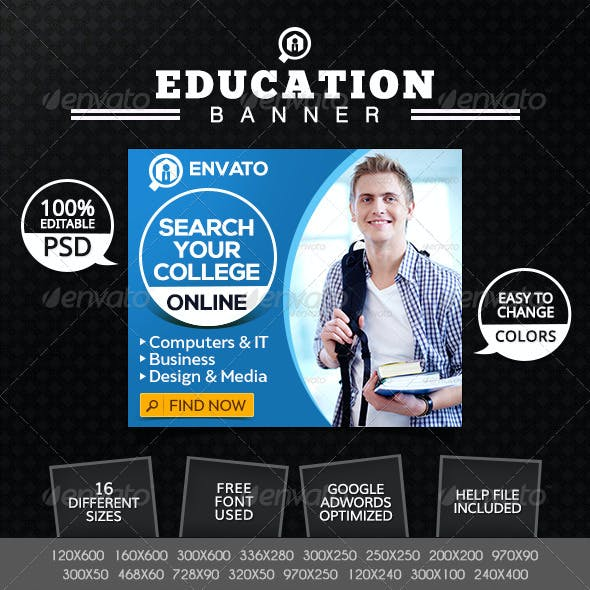 Education Institute Banners