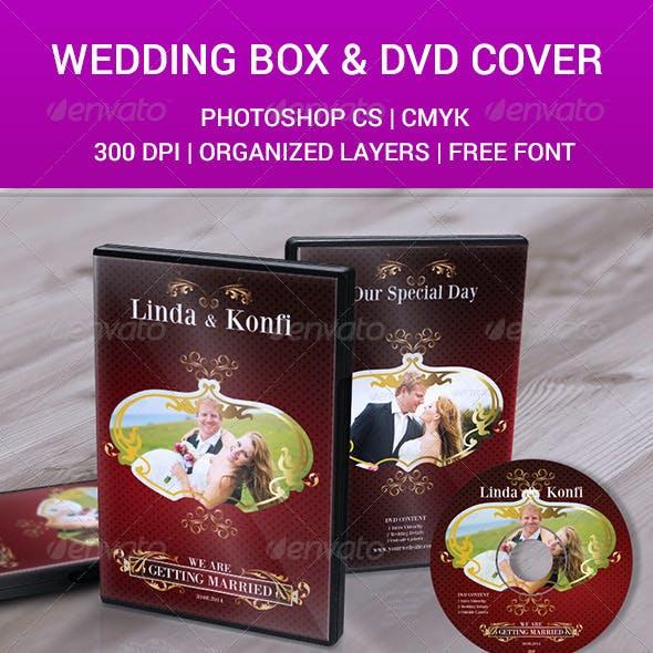 Wedding DVD Cover & CD Label v5