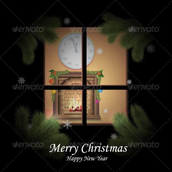 New Year's Eve and Christmas - Christmas Seasons/Holidays