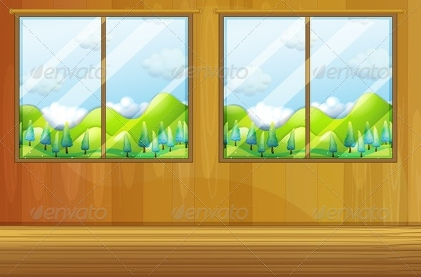 Windows made of Glass - Nature Conceptual