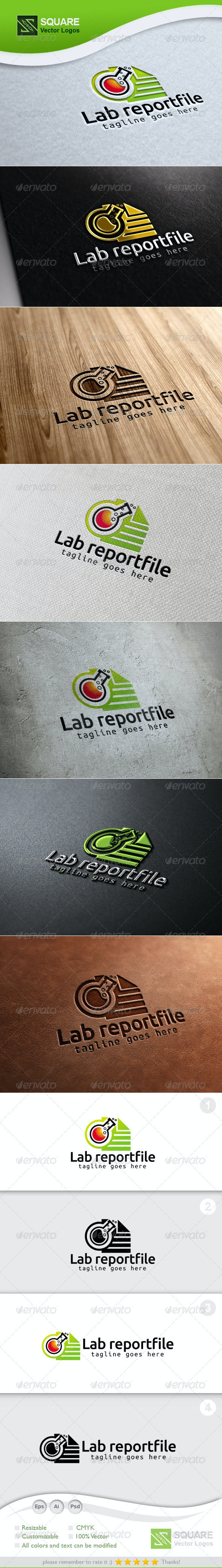 Test Tube, File Vector Logo Template - Objects Logo Templates