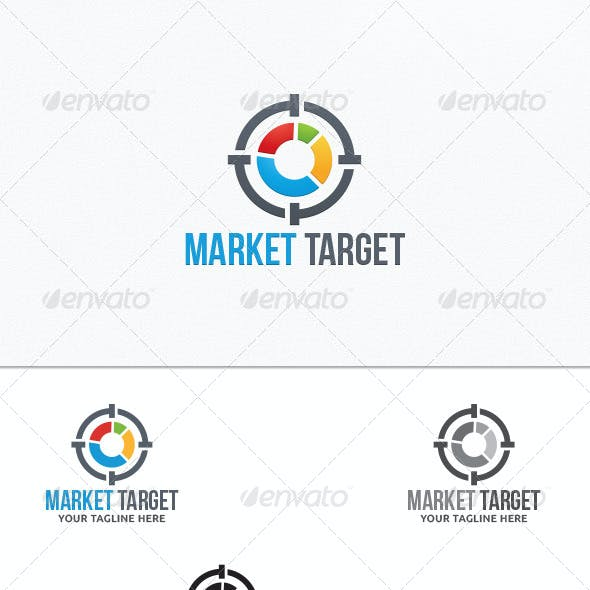 Market Target - Logo Template
