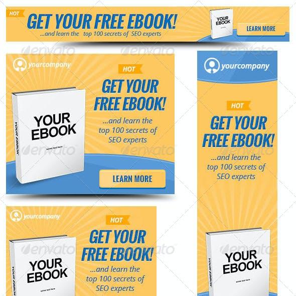Ebook Web Banner Template 2