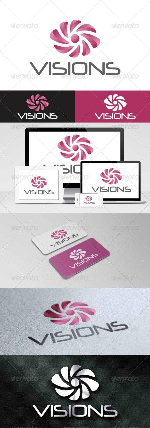 Visions Logo - Symbols Logo Templates