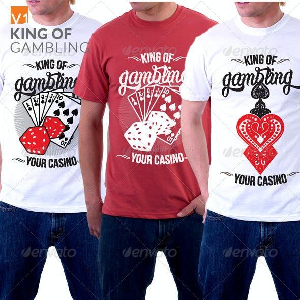 King of Gambling T-shirt