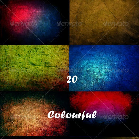 20 Colourful Floor Backgrounds