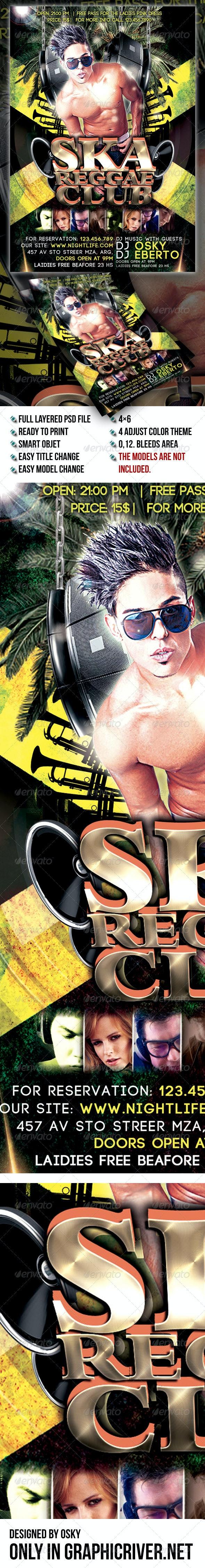 Ska Reggae Club - Clubs & Parties Events