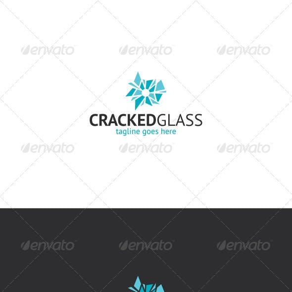 Cracked Glass Logo — Gunshop