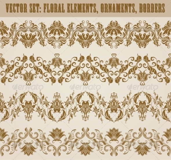 Horizontal Decoration - Patterns Decorative