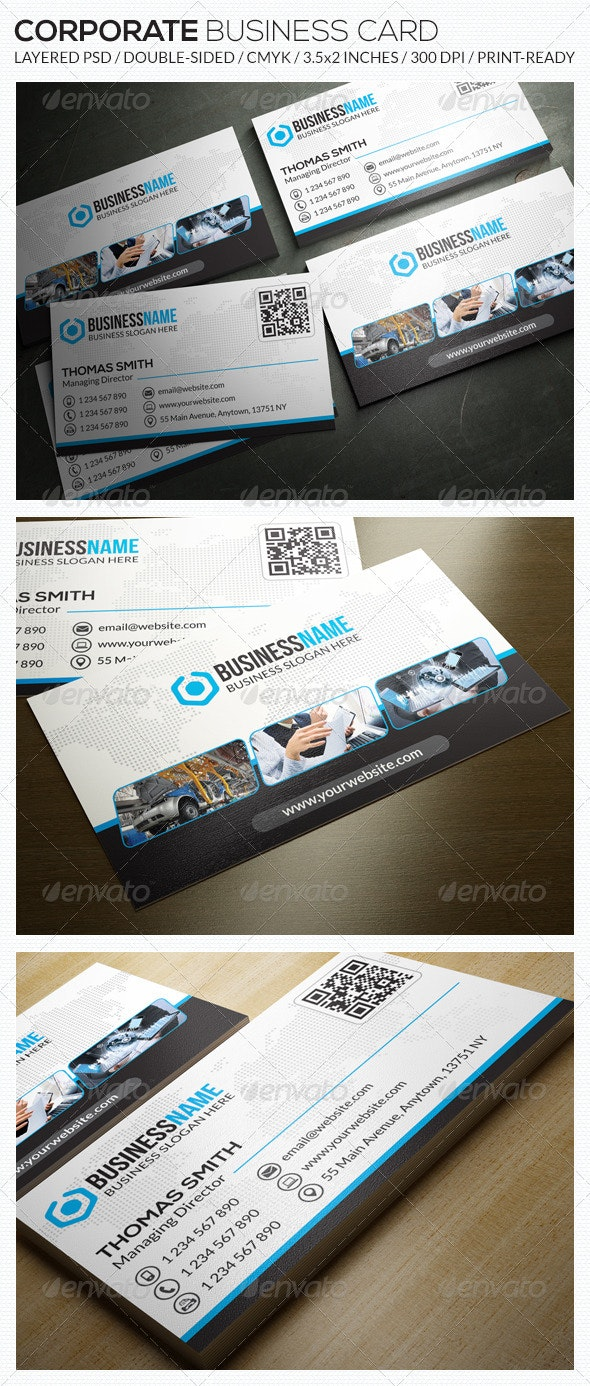 Corporate Business Card - RA37 - Corporate Business Cards