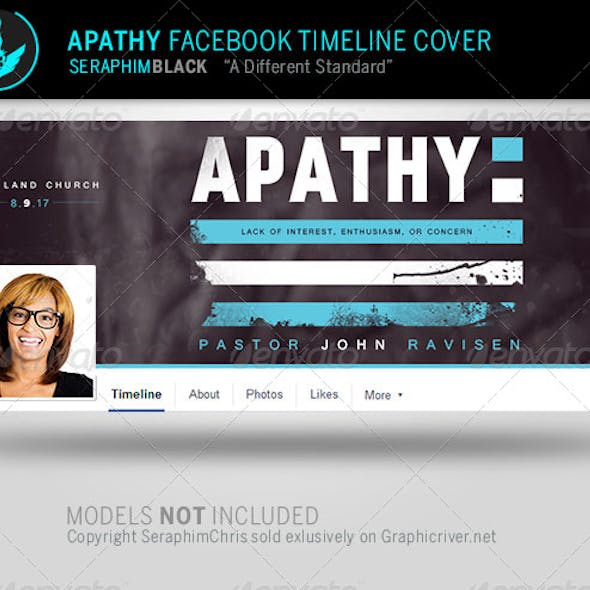 Apathy: Facebook Timeline Cover Template