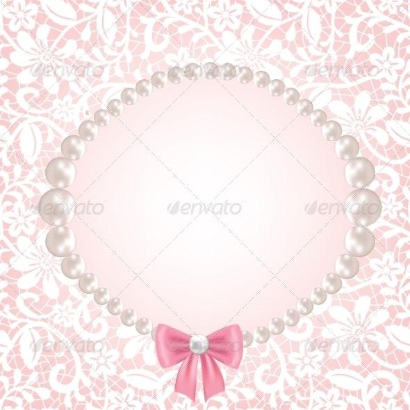 Lace Fabric Background - Backgrounds Decorative