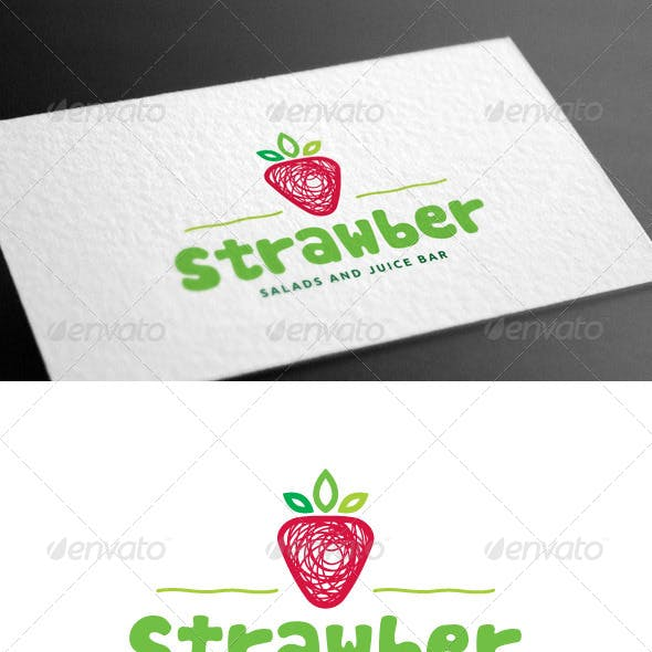 Strawber Logo Template