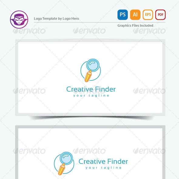 Creative Finder Logo Template