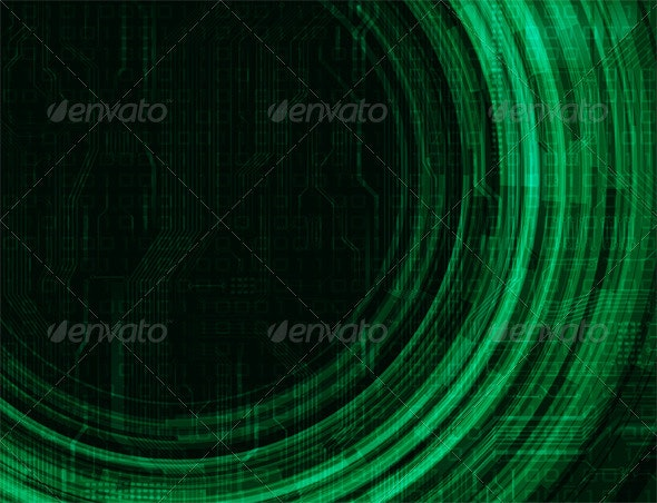 Futuristic Background - Backgrounds Decorative