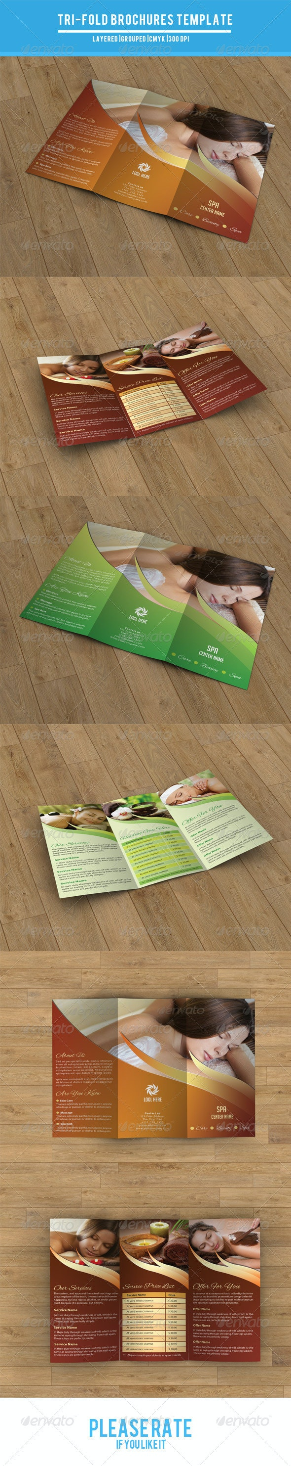 Trifold Brochure for Beauty Salon-V24 - Corporate Brochures