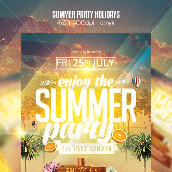 Summer Party Holidays