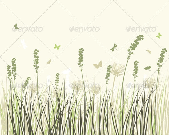 Summer Meadow Background - Landscapes Nature