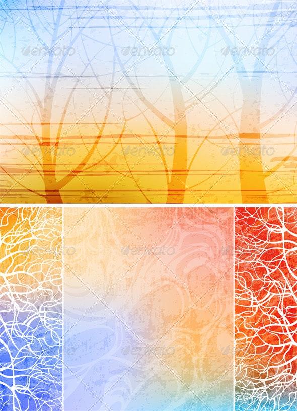 Nature Theme Backgrounds - Backgrounds Decorative