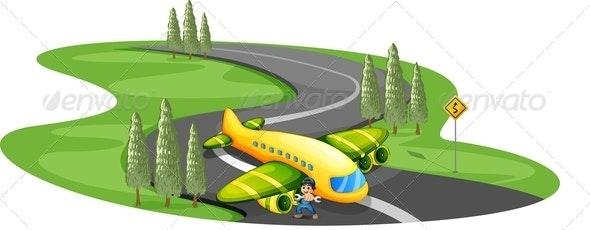 Boy with a Plane - Miscellaneous Conceptual