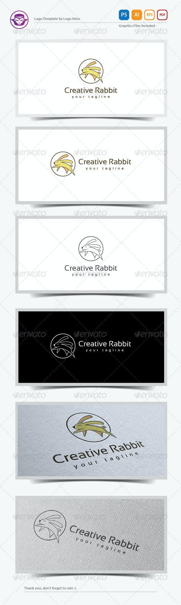 Creative Rabbit Logo Template - Animals Logo Templates
