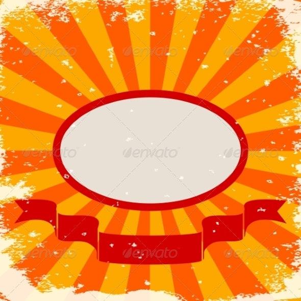 Orange Stripes - Backgrounds Decorative