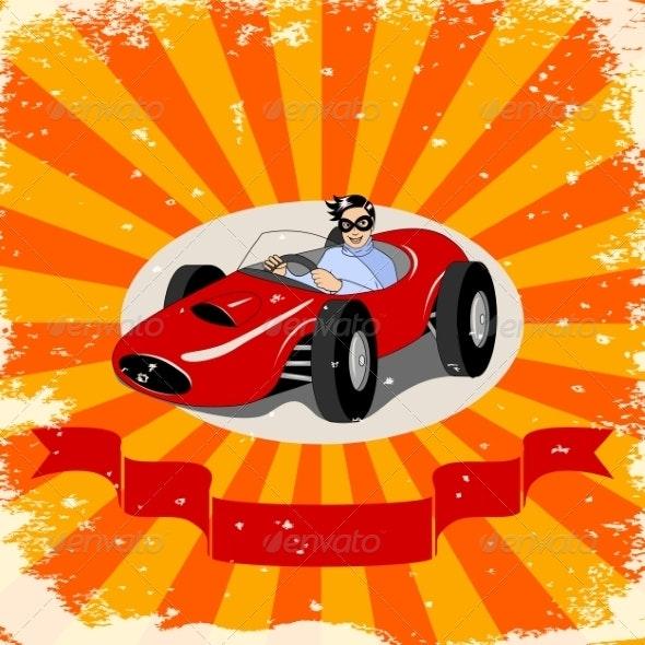 Racing Car - People Characters