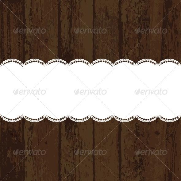 Wood - Backgrounds Decorative