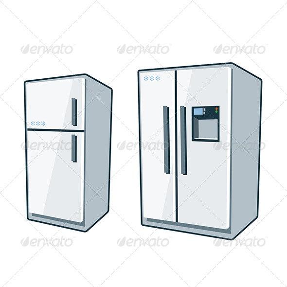 Home Appliances 1 - Refrigerators - Technology Conceptual
