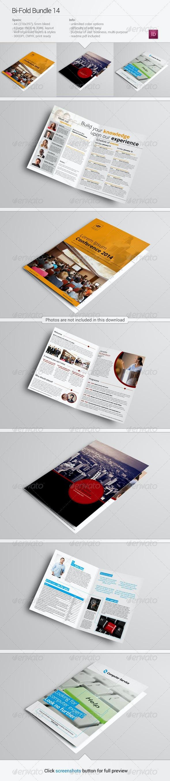 Bi-fold Bundle 14 - Corporate Brochures