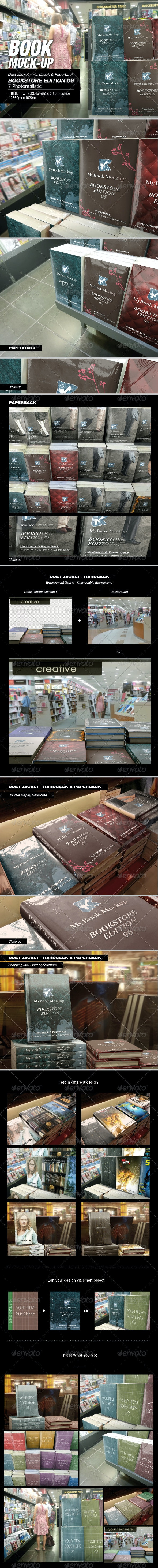 Bookstore Edition 06 Mock-up - Books Print