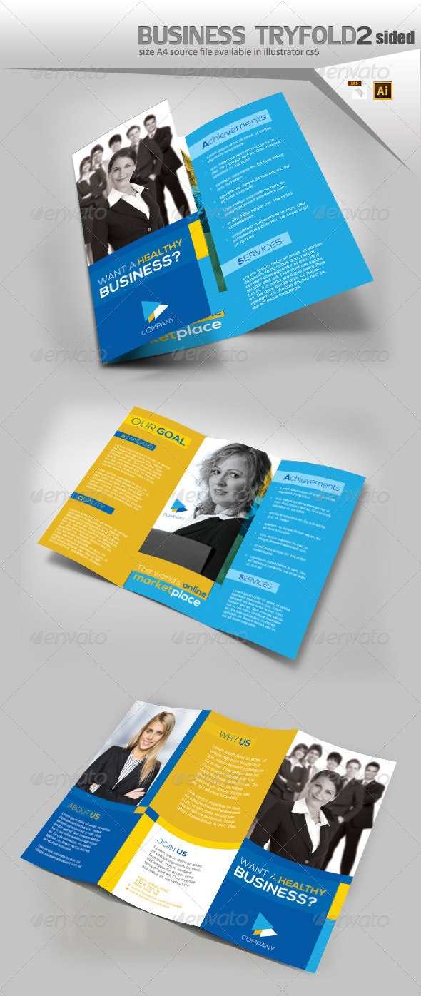 Company Trifold Brochure  - Informational Brochures
