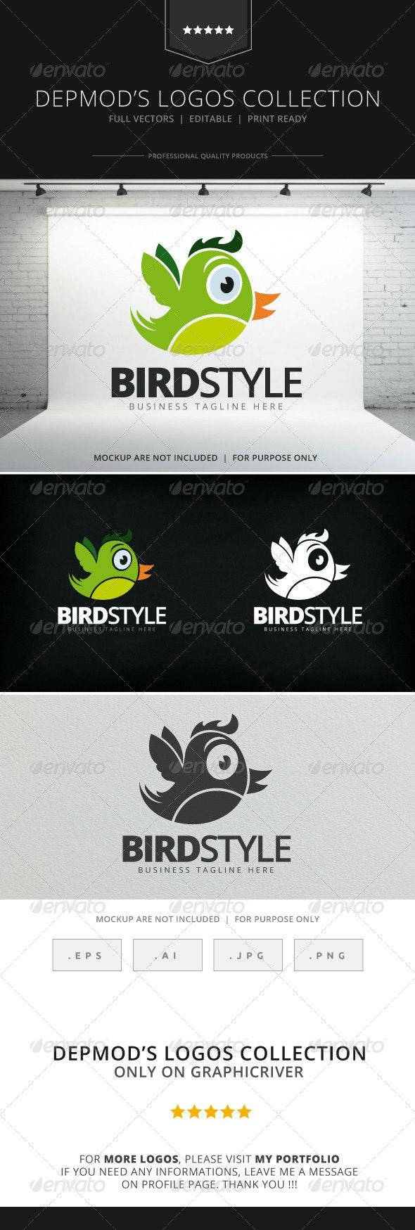 Bird Style Logo - Animals Logo Templates