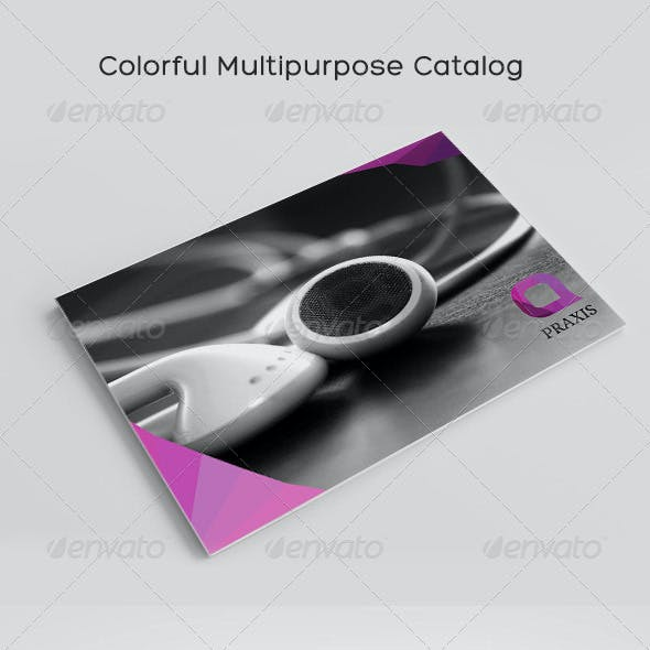 Colorful Multipurpose Catalog
