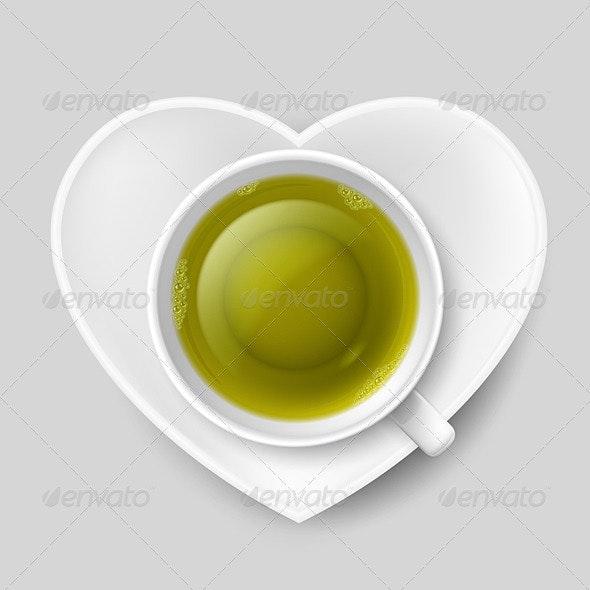 Love of Tea - Patterns Decorative